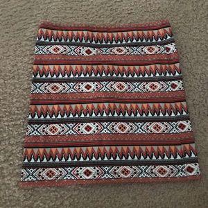 Dresses & Skirts - NWOT Tribal bodycon skirt